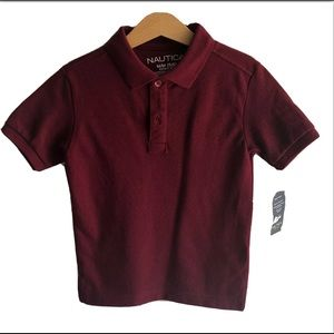 Nautica Boys' Short Sleeved Polo Shirt